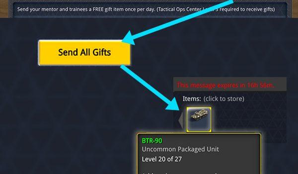 Firestrike Trainee Rewards