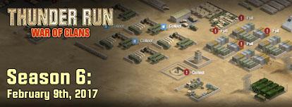 Thunder Run End of Season 5 Clan Tournament Starts Today