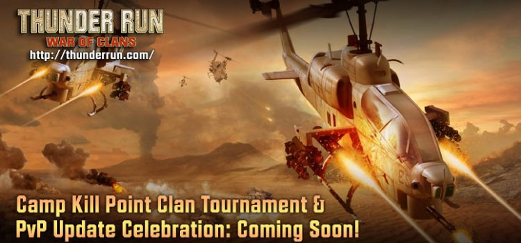Coming Soon to Thunder Run: PvP Updates & New Clan Tournament!