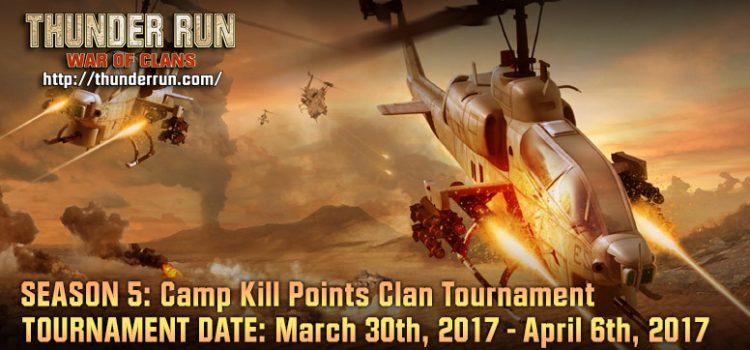 Thunder Run: Mid-Season PvP Updates & Camp Kill Point Tournament