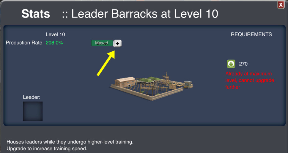 Improve Leader Training Speed with new Enhancement Options